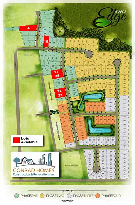 Subdivision map with lots